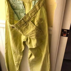 Linen cotton light weight pant